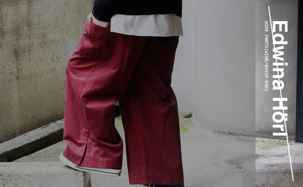 【Edwina Horl】NEW SILHOUETTE TROUSERS