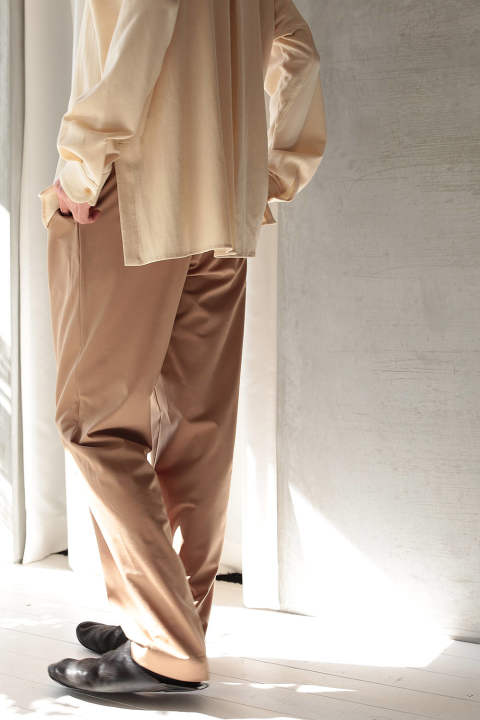 【ETHOSENS】Slim Fitting Slacks