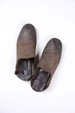 ROOM SHOES(DARK BROWN)