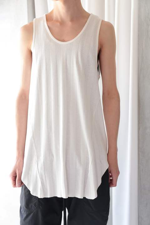 LONG TANK TOP(WHITE)