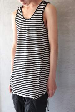 LONG TANK TOP(BORDER)