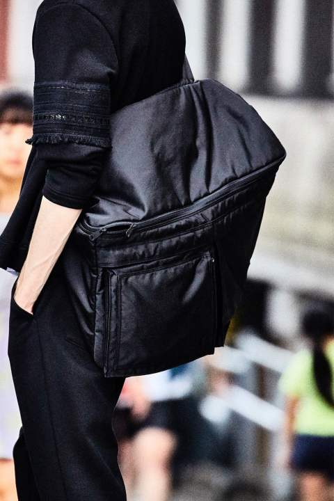 PORTER 3WAYS BAG(BLACK)