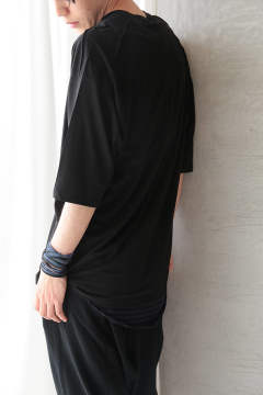 OVERSIZED CUTSEW(BLACK)
