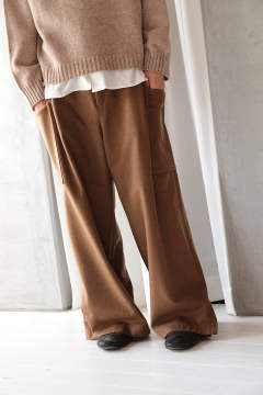 WIDE PANTS(THE EARTH/EH35P-03B)