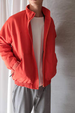 MIL-PUFF-JKT(ORANGE)