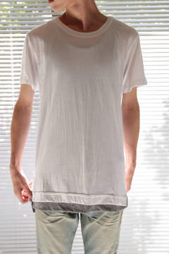 【ラスト1点】MERCER TEE(WHITE)