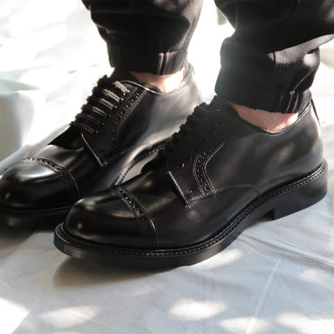【ラスト1点】LEATHER SHOES(LEATHER SOLE)