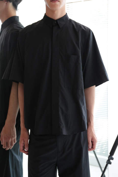 BIG POCKET SHIRT(BLACK)