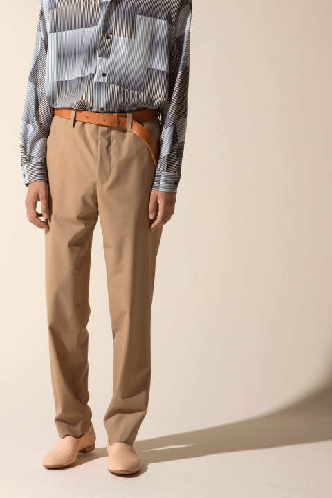 STRAIGHT PANTS【E118-706(BEIGE)】
