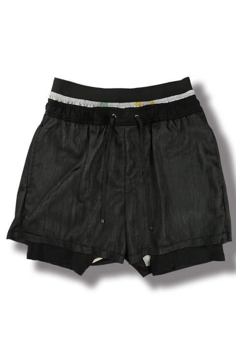 SWIM SHORT PANTS(BLACK)