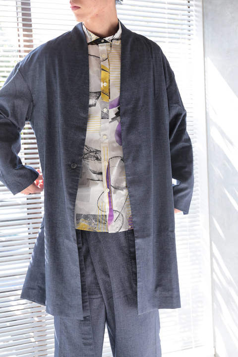 WUTONG COAT(BLUE)
