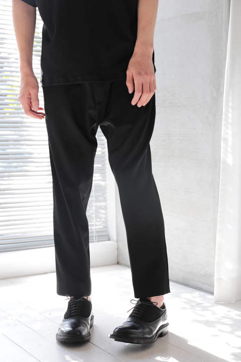 BASIC PANTS(BLACK)