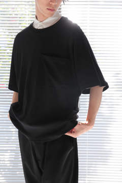 BIG POCKET T-SHIRTS(BLACK)
