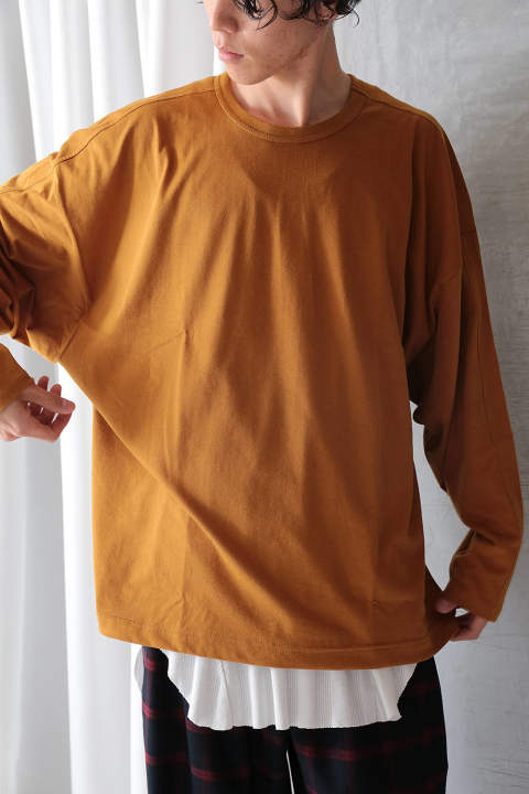 【ラスト1点】DOLMAN CUTSEW(DARK ORANGE)