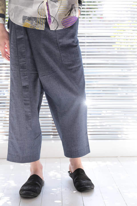 WORK TROUSER(BLUE)