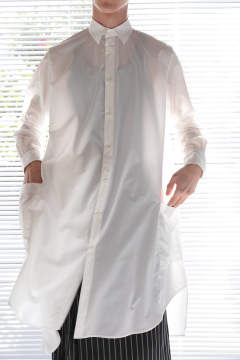 BIG LONG SHIRT(WHITE)