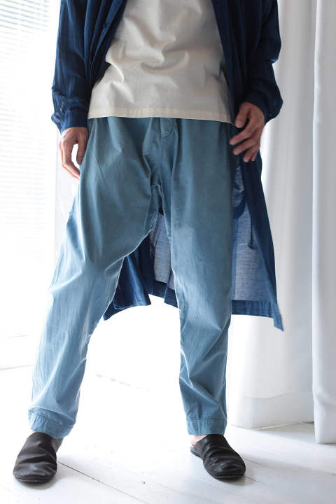 LOOSE FIT TROUSERS #39(INDIGO)