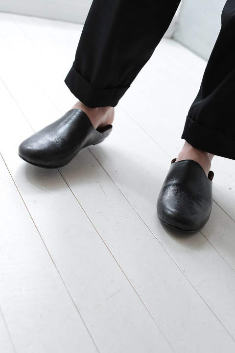 ROOM SHOES Ⅱ(BLACK)