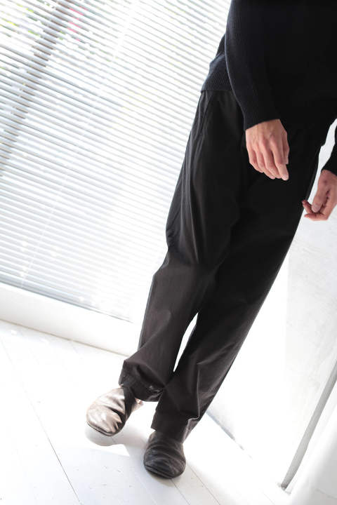 LOOSE FIT TROUSERS #39(BLACK)