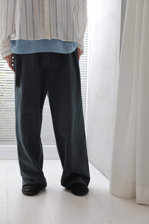 WIDE PANTS(G.BLUE/EH36P-03A)