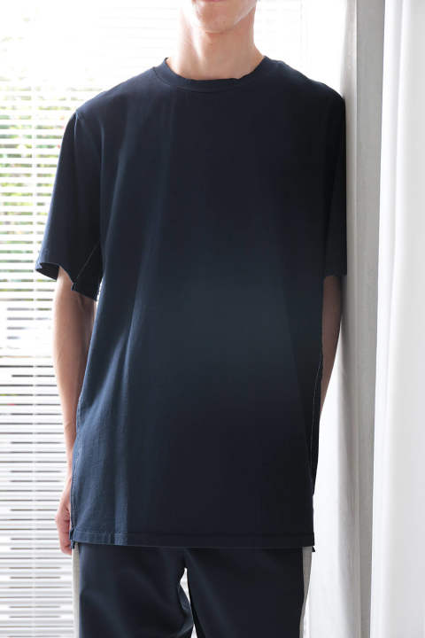 SS RE-CONSTRUCTED T-SHIRT(MIDNIGHT)