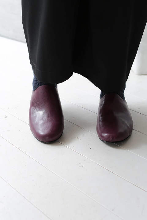 【再入荷】ROOM SHOES Ⅱ(PURPLE)