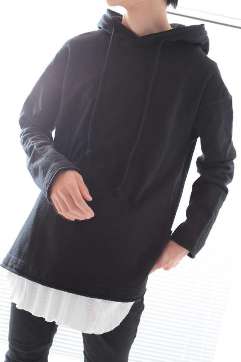 【ラスト1点】SIDE SLIT PARKA(BLACK)