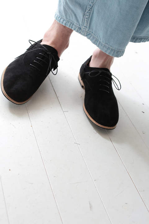 SUEDE SHOES(BLACK)