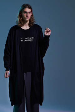 DOLMAN LONG CARDIGAN(BLACK)