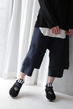 LAYERED PANTS(NAVY)