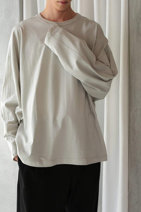 【ラスト1点】DOLMAN CUTSEW(LIGHT GRAY)