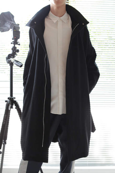 BALLOON COAT(BLACK)