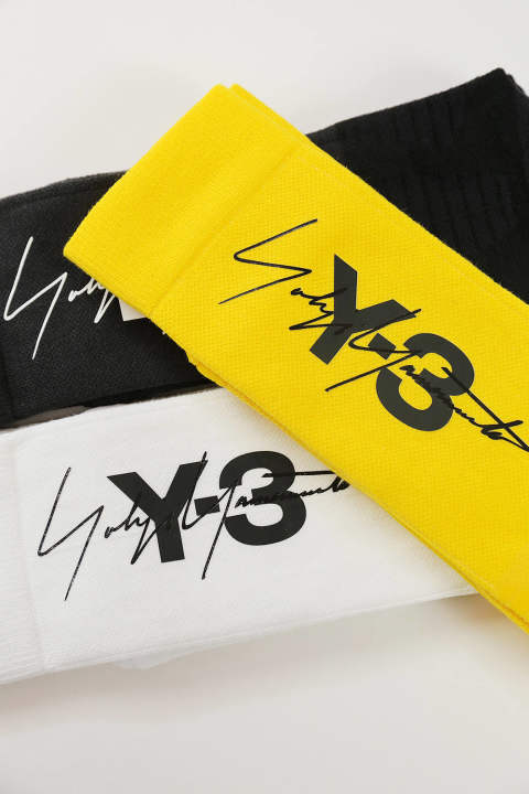 Y-3  TUBE SOCKS(WHITE)