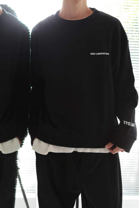 【ラスト1点】SHORT SWEAT(BLACK)