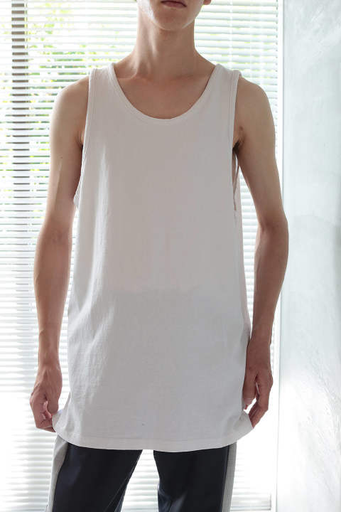 【19SS】RUGBY TANK(WHITE)