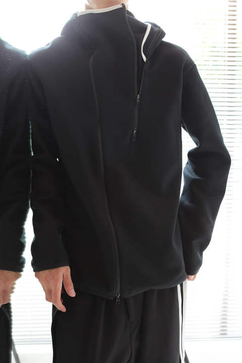 【ラスト1点】M BINDING TRACK JACKET(BLACK/BLACK)