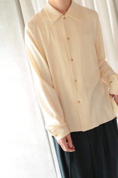 DOUBLE GAUZE SHIRTS【E218-201(UNBLEACHED)】