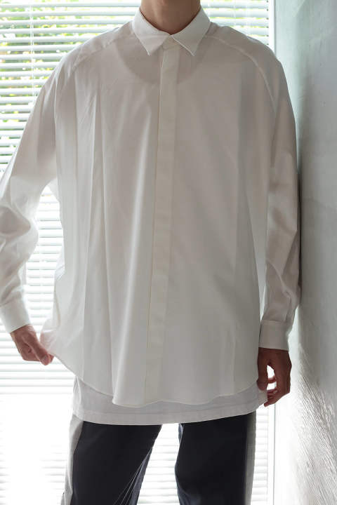 BALLOON SHIRT(WHITE)