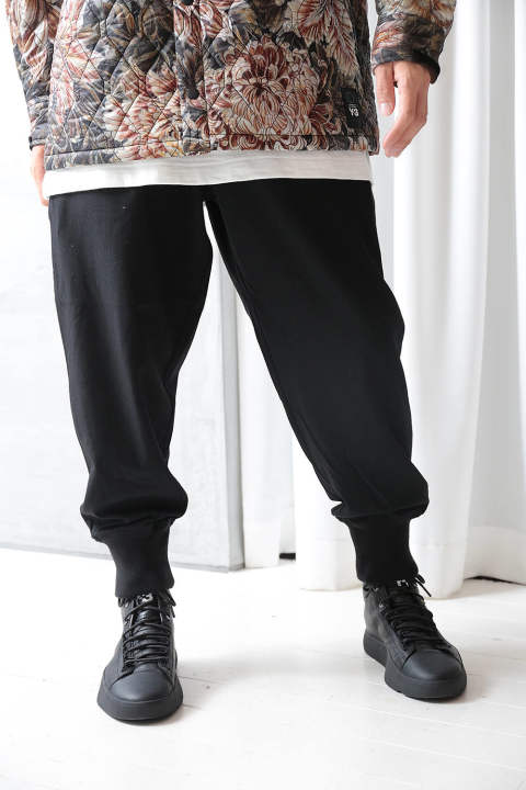 M QUILTED PANT(BLACK/NIGHT GREY)