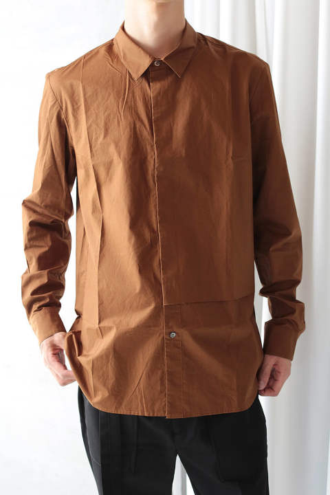 COVER SHIRT(BROWN)