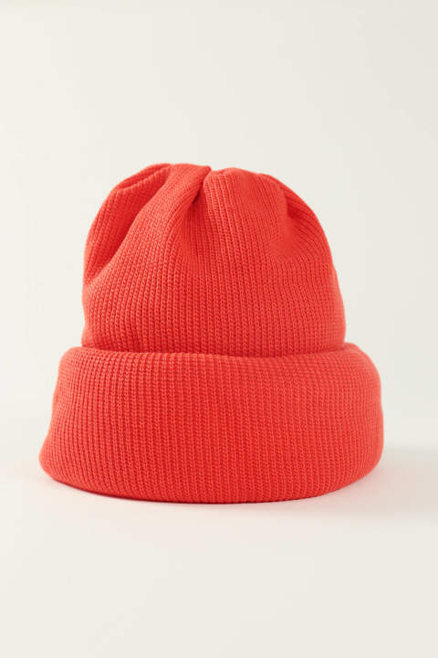 KNIT CAP(RED/EH37A-01C)