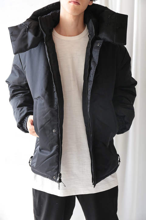 M PATTED JACKET(BLACK)