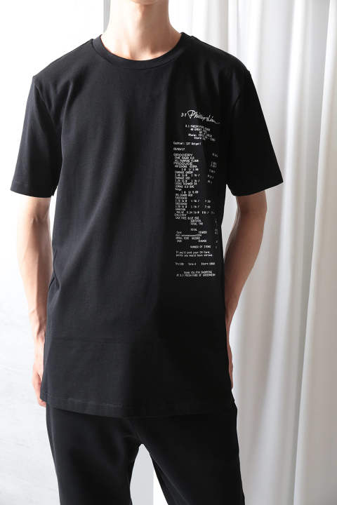 SS PERFECT TEE W ONION PRINT(BLACK)