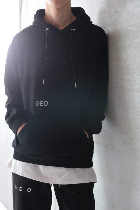 WORLD OFFICE HOODIE(BLACK)