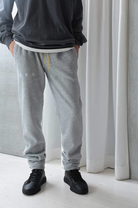 【ラスト1点】GEO ESSENTIAL SWEAT PANTS(GREY)