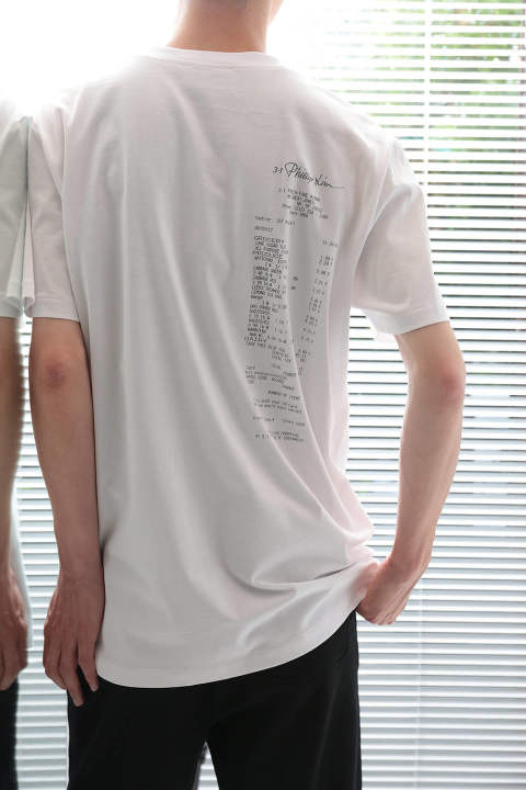【ラスト1点】SS PERFECT TEE W CABBAGE PRINT(WHITE)