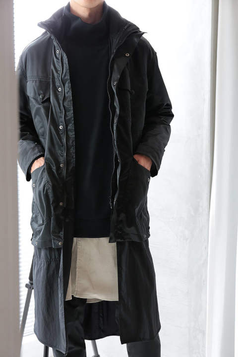 【ラスト1点】LINING LAYERED(BLACK)