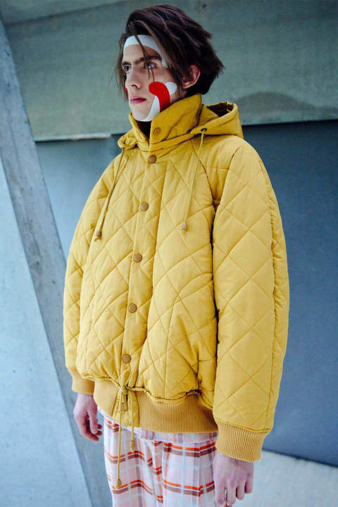 THEREFORE THERMO JACKET(HONEY CORD)