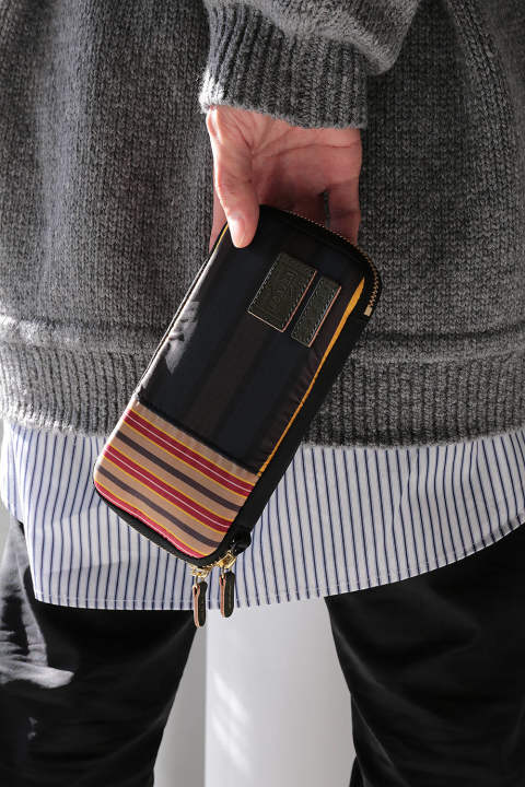 LONG ZIP WALLET FAC(MARTI)