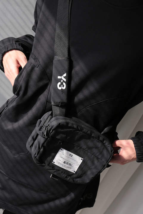 Y-3 MULTI POCKET(BLACK)